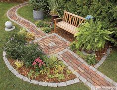 Decorating Ideas  30 Stone Walkways and Garden Path Design Ideas