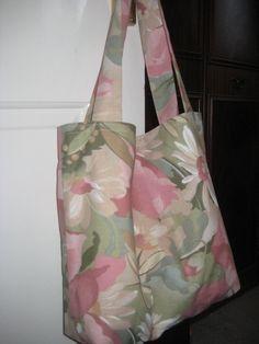 Handmade Floral  Cotton Tote Bag. £9.50, via Etsy.