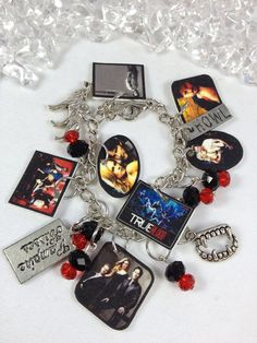 True Blood Photo Charm Bracelet by EnYaFaceDesigns on Etsy, $25.00