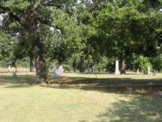Fairlawn Cemeteries  Comanche  Stephens County  Oklahoma  USA