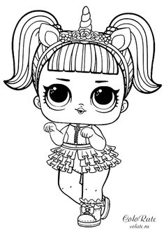 Printable LOL Doll Coloring Pages - Free Coloring Sheets Printable LOL Doll Coloring Pages. Find out our collection of LOL Doll coloring pages below. Your children surely will love these images. Tattoo Coloring Book, Mermaid Coloring Pages, Free Coloring Sheets, Coloring Pages For Girls, Cute Coloring Pages, Cartoon Coloring Pages, Coloring Pages To Print, Printable Coloring Pages, Coloring Rocks