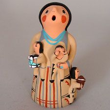 Native American / Indian Storytellers - Pueblo Pottery from the Southwest - Pueblo Pottery Maine
