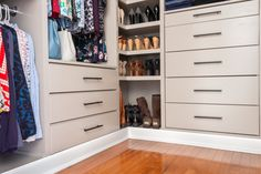 DIY Custom Closet - IKEA TARVA & IVAR HACK - Handmade Weekly Diy Custom Closet, Custom Closet Design, Bedroom Closet Design, Master Bedroom Closet, Custom Closets, Closet Designs, Master Room, Ikea Chest Of Drawers, Ikea Dresser