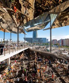 Architecture photographs of the year revealed. Runner-up: Encants Flea Market by Inigo Bujedo Aguirre.