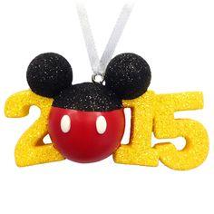 Disney Discovery- Disney 2015 Christmas Ornament