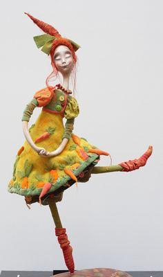 Happy art doll