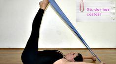 3 exercícios usando apenas uma faixa para diminuir MUITO as dores nas costas - Bolsa de Mulher