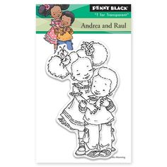Penny Black - Clear Stamp - Andrea