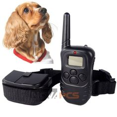 NEW LCD 100LV Level Shock Vibration Remote Pet Dog Training Collar For 10-130lb ** Want additional info? Click on the image. (This is an affiliate link and I receive a commission for the sales)