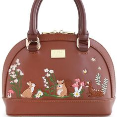 Find More Top-Handle Bags Information about Lady Floral Coffee Girl Fashion Mori Shell Rabbit Deer Squirrel Leather PU For Women's Handbags Messenger Bags Top HandleTotes,High Quality handbags for women,China messenger bags for women Suppliers, Cheap pu pu from Angelatracy's Bag Store on Aliexpress.com