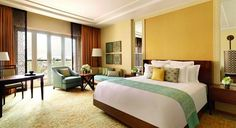 Deluxe Room at 5 star hotel: The Ritz Carlton Dubai Hotel. This hotel's address is: Al Sufouh Rd. Box 26525 Dubai Marina Dubai and have 294 rooms