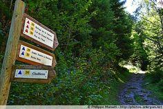 Panneau pour le Pas de l'Âne, Pralognan-la-Vanoise (France, Auvergne-Rhône-Alpes, Savoie)