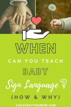 Is it too early to teach baby sign language? Is it too late? What are the pros and cons? What are the benefits and negatives? Find all of that information and how to get started right here! You will find links to printable cards, book recommendations, etc.