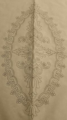 This Pin was discovered by Zuh Hand Embroidery Design Patterns, Hand Work Embroidery, Hand Embroidery Patterns, Ribbon Embroidery, Beaded Embroidery, Embroidery Stitches, Machine Embroidery, Hai Tattoos, Hand Work Blouse Design