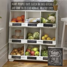 maybe throw this in the counter extension? Cubby Shelf