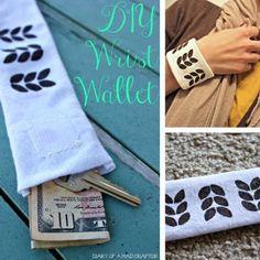 DIY Wrist Wallet