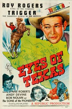 ROY ROGERS   Eyes of Texas - Movie Poster