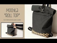 Outstanding 50 sewing tips tips are readily available on our site. Backpack Tutorial, Diy Backpack, Backpack Pattern, Mochila Tutorial, Pochette Diy, Top Backpacks, Diy Handbag, Handmade Bags, Tote Bag