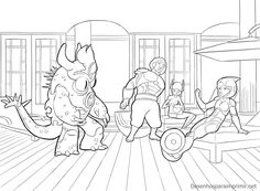 Also Trending On Pinterest Top 25 Big Hero 6 Coloring Pages