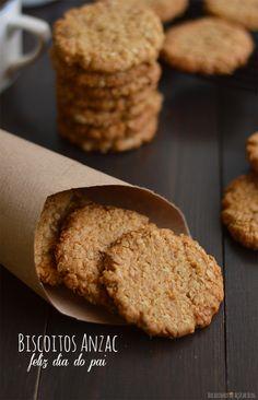 Bocadinhos de Açúcar: Biscoitos Anzac