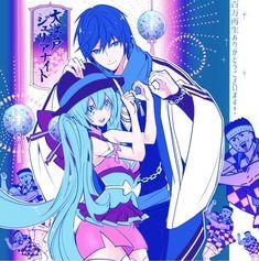 Kaito, Hatsune Miku, Black Rock Shooter, Illustrators, Chibi, Cool Art, Concept Art, Anime, Fan Art