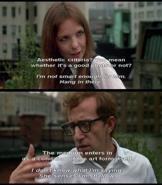 Annie Hall aka love representation at its finest