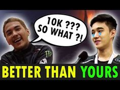 9K vs 10K - Inyourdream vs Abed [Dota 2]