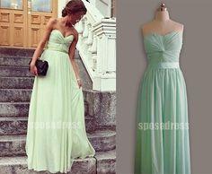 Bridesmaid Dresses Prom Dresses Long Chiffon Dresses by sposadress, $119.00