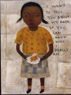"""""""Quisiera contarte de mi abuso para que sepas quien soy realmente"""" ..."""