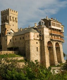 The Monastery of Stavronikita, Mount Athos
