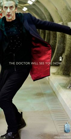 The Doctor will see you, now. #DoctorWho