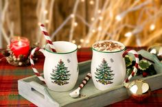 Christmas mugs from Spode