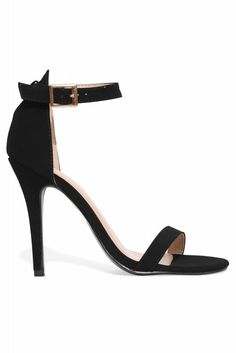 A sexy pair of plain black heels. Wear with simply anything!