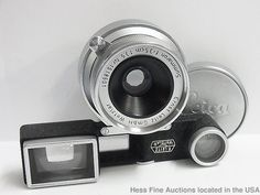 Summaron Ernst Leitz Wetzlar f=35cm 1:3.5 Nr.1518501 Camera Viewfinder  #Leitz
