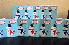 Holiday cards for the troops