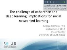 The Challenge of Coherence #GeorgeSiemens