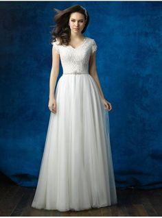 abiti da sposa tulle v
