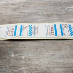 Ticket stickers for scrapbooking. | Mr. Wonderful