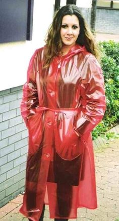 Clear Raincoat, Red Raincoat, Vinyl Raincoat, Raincoat Jacket, Plastic Raincoat, Plastic Pants, Rain Jacket, Plastic Mac, Imper Pvc