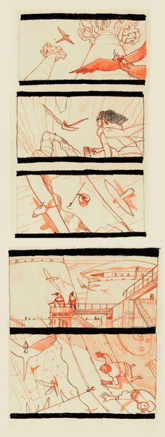 Brigada Storyboard At Half Way By EnriquefernandezDeviantart