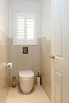 Space Saving Toilet Design for Small Bathroom - Home to Z In the event that you are one of the a huge number of individuals around the globe who needs to bear the claustrophobia of a little restroom, help is within reach. Bathroom Blinds, Beige Bathroom, Bathroom Windows, Bathroom Photos, Bathroom Toilets, Bathroom Interior, Bathroom Colours, Kitchen Blinds, Bathroom Shop