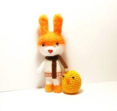 Cute bunny amigurumi