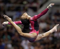 Gabby Douglas...such a great inspiration for our little black girls<3