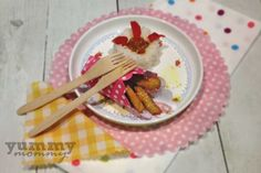 chicken sticks {Λεμονάτα sticks κοτόπουλου με πύργους ρυζιού} Baby Food Recipes, Kids Meals, 12 Months, Babies, Recipes For Baby Food, Babys, Baby, Infants, Boy Babies