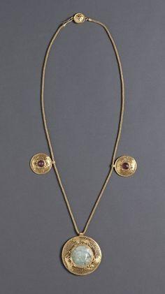 Necklace with Three Pendants, Greece-Roman Empire, 1st   2nd Century AD