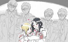 Mikasa, Aot Armin, Levi X Eren, Attack On Titan Season, Attack On Titan Eren, Haikyuu, Chibi, Atack Ao Titan, Aot Characters