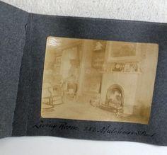 Antique Snap Shots 8 Picture Album 282 Mutchmor Street Historical Ottawa Canada