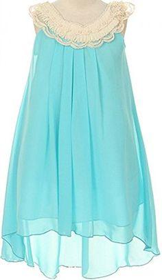 Flower Girl Chiffon Hi-Low T-Length Dress for Little Girl... https://smile.amazon.com/dp/B01FBEMK1G/ref=cm_sw_r_pi_dp_x_9JkjybB1Q843P