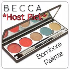 Becca Bambora Eye, Lip & Cheek Palette •Highlighting Creme 1.5g Mazu gives a golden sheen •Compact Eyeliner 1.6g Raffia shimmering marine blue •Compact Eyeliner 1.6g Sunburst yellow gold •Lip & Cheek Creme 1.3g Bougainvillea a rusty red •Lipgloss Mai Tai sheer orange with a hint of shimmer •Combination Eye Brush. BNIB. Never used or swatched. 100% Authentic. No Trades. ✨Note: All products are free from detectable defects by me unless otherwise stated in the description. All products are sold…