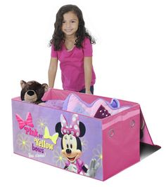 Disney Minnie Mouse Collapsible Storage Trunk, other characters too!